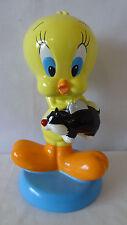 Warner Brothers 1998 Tweety Bird Holding Sylvester Bank #C714