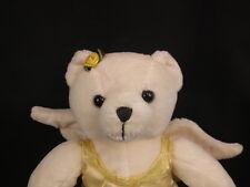 WHITE ANGEL BEAR TEDDY YELLOW DRESS CHRISTMAS STAMP 39 CENTS USA PLUSH STUFFED