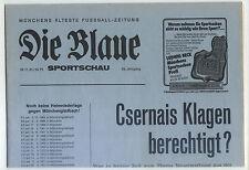 BL 81/82 FC Bayern München - Borussia Mönchengladbach, 28.11.1981 Die Blaue