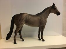 Glacier 1 - Peter Stone Model Horse - Dark Dapple Rose Grey - 2000 Mare Version