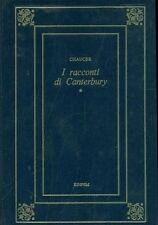 I RACCONTI DI CANTERBURY. VOLUME PRIMO