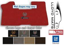 67-85 Cadillac Eldorado - Classic Loop Carpet Floor Mat - Choose Color & Logo