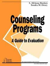 Counseling Programs: A Guide to Evaluation (Paperback or Softback)