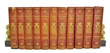 History of Egypt by Maspero & Rappaport #151/1000 Grolier Soc 1903 11 Vols