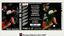 1995 Dynamic ALL BLACK Signature H5: Wayne Shelford (Redemp+ Sign + Certificate)