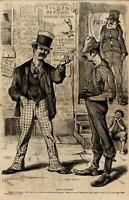 "Tilden reform Uncle Sam Tammany ""N"" word 1876 A.B. Frost art print Harper's"