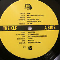 "The KLF ‎– What Time Is Love - '89 Primal Remix 1989 UK Vinyl 12""  KLF4R  NMINT"