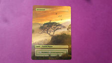 1x Savannah Full Art with Custom picture MTG