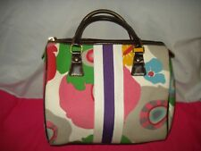 VICTORIA SECRET MULTI COLOR SATCHEL BAG PURSE AUTHENTIC SO CUTE SUPER SALE