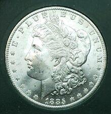 Extremely Beautiful GEM BU 1885-0 Morgan Silver Dollar, Estate Find