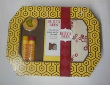 5 piece kit BURTS BEES TRAVEL BASICS HAND CREAM, CUTICLE CREAM, BALMS sealed nib