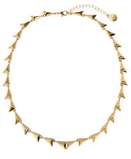 House of Harlow 1960 Gold-Tone Linked Triangle Dynamic Necklace NWT