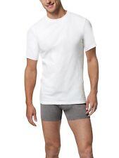 Hanes White 5-Pk X-Temp Comfort Cool Crewneck T-shirts Men's Size L 21505