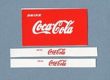 DINKY TOYS 402 : BEDFORD COCA COLA TRUCK transfert / transfer décalcomanie decal