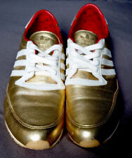 Adidas Originals Trainers Sleek Series Limited Edition Gold red UK5