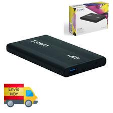 "Carcasa caja externa Disco Duro/SSD 2.5"" SATA USB 3.0 Negra ENVIO HOY"