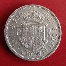 1960 60th birthday HALF CROWN reminiscent party gift coin wedding souvenir + bag