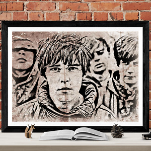 The Stone Roses Music Poster Art Picture Print