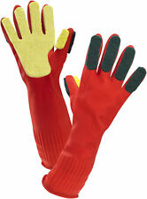 Latex Cleaning Gloves Multi Purpose Washing Household Rubber Scrubbing Sponge