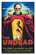 "1967 Undead Movie Poster Replica 13x19"" Photo Print"