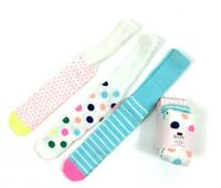 BABY GIRLS EX MAJOR STORE 3 PACK MULTI COLOURED TIGHTS