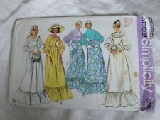 1970s Wedding Dress Sewing Pattern Bust 34 Victorian/Edwardian Sleeves