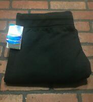Champion Drawstring Eco Fleece Black Sweatpants Men's Size XL