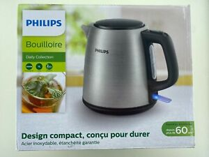 Philips Daily Collection Kettle Steel 1L 2000W HD9348/10