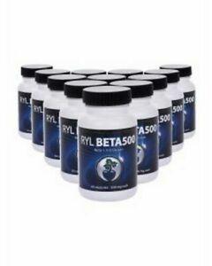 Three - RYL Beta500 (Beta 1, 3-D Glucan) Youngevity - NEW - 180 capsules total