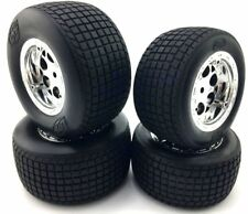 1/18 scale Buggy Losi Mini Sprint 1/18 sprint car tire and rim wheels set 2pcs