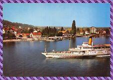 Tarjeta Postal - AMPHION Les BAINS , el lago y el envío