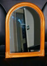 ancien Vintage Miroir rotin Osier bambou a voir ..... mirror