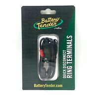 """Battery Tender Quick Disconnect Ring Terminal Harness 18"""" In Line 7.5 amp Fuse"""