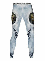Raven Fightwear Men's The Griffin Leggings Spats MMA BJJ White