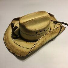 Lonestar Straw Cowboy Pride Hat Size 7 Western Rodeo NWT