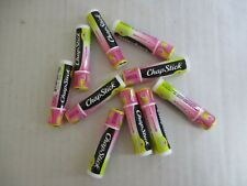 10 COUNT CHAPSTICK BRAND LIP BALM - PINK LEMONADE - NEW/SEALED - EL 117
