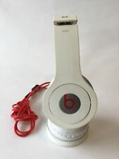 Monster Beats by Dr. Dre Solo Headband Headphones - White - Works Great