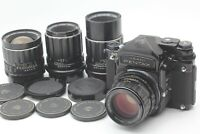 4 Lens [MINT] PENTAX 6x7 67 TTL Body + SMC-T 75mm 105mm 135mm 200mm Lens JAPAN