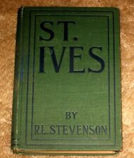 VINTAGE ST IVES BY ROBERT L STEVENSON HB 1897 SPECIAL ED LMTD TO100,000 COPIES