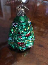 OLD WORLD CHRISTMAS TREE GLASS ORNAMENT