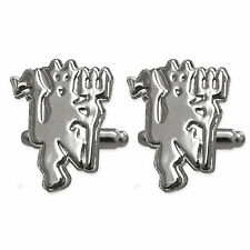 Manchester United Football Club Official Soccer Gift Chrome Executive Cufflinks