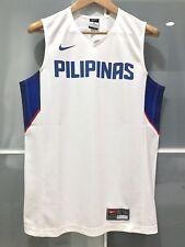 RARE NIKE PHILIPPINES BASKETBALL GAME JERSEY GILAS PILIPINAS FIBA ASIA WHITE XL