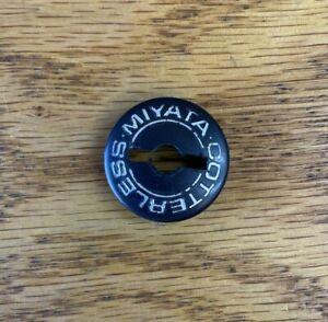 Vintage Miyata Dust Cap Cotterless Crank Black (1) Road MTB