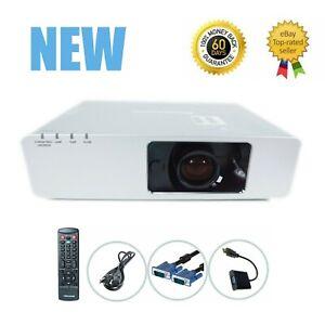 New Panasonic PT-F200U 3LCD Projector 3500 Lumens HD 1080i w/Accessories