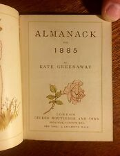 Kate Greenaway Almanack for 1885