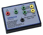 Desco 07010 Wrist Strap and Foot Grounder Calibration Unit, NIST