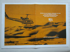 5/1972 PUB BELL HELICOPTER TEXTRON BELL 212 TWIN ENGINE HELICOPTERE ORIGINAL AD