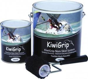 Kiwi Grip Kiwigrip smalto nautico antiscivolo 1 lt + APPOSITO RULLO IN OMAGGIO