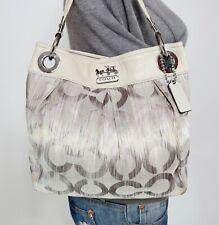 COACH ASHLEY Medium Leather Shoulder Hobo Tote Satchel CrossBody Purse Bag