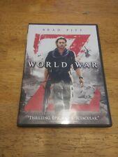 World War Z (DVD, 2013) Brad Pitt